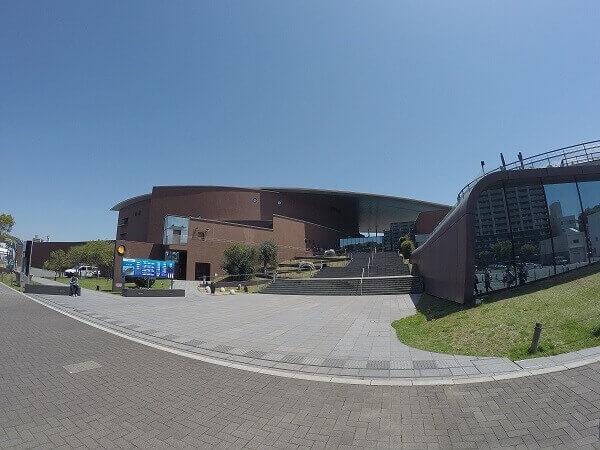 海響館の入り口