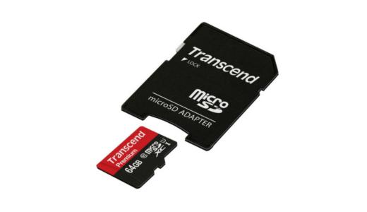 GoPro用マイクロSDカード