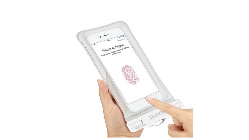 Iphone8/8Plusはケースに入れても指紋認証ができる