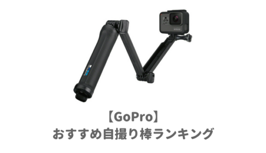 【オススメ】GoPro対応の「自撮り棒」ランキング!ダイビングからスノボまで使える!【人気セルカ・セルフィー】