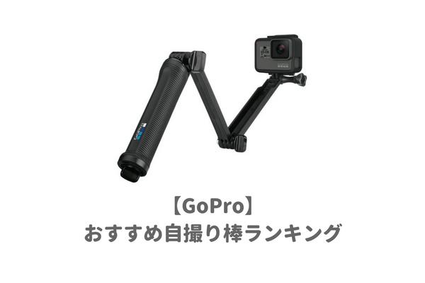 厳選】GoPro対応のおすすめ自撮...