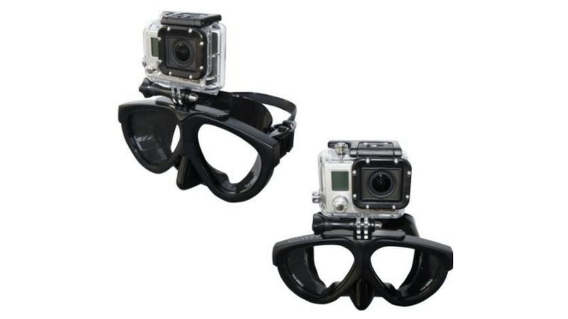 GoPro用マスクマウント