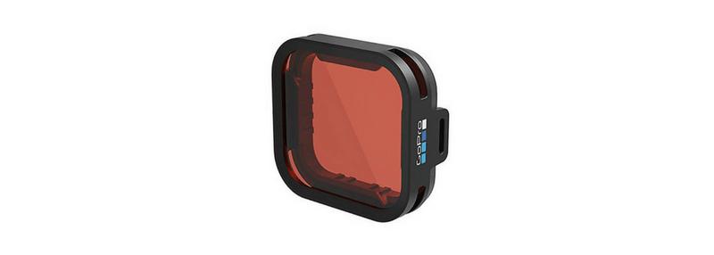 GoPro ウェアラブルカメラ用アクセサリ 青のウォータースノーケルフィルタ