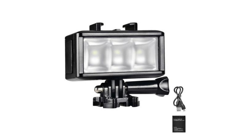 GoPro水中ライト