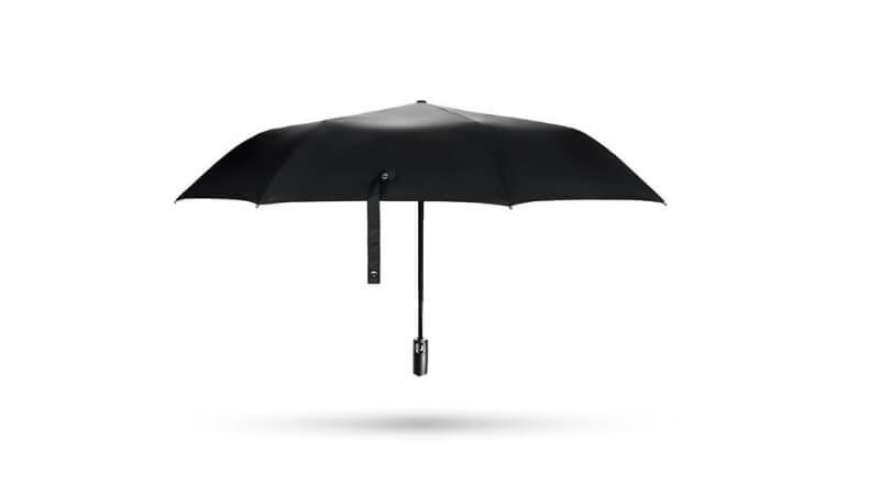 ワンタッチの折り畳み傘