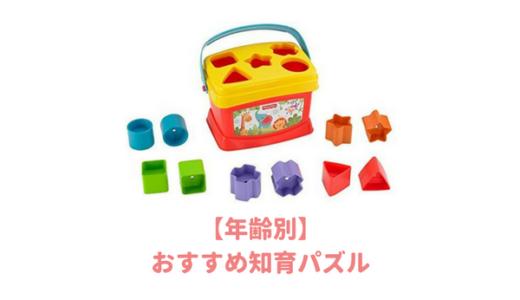【年齢別】子供(6か月~3歳)におすすめする「知育パズル」まとめ!赤ちゃんは何歳からパズルを始めるの?
