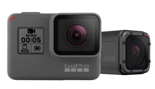 【GoPro】HERO5BlackとSessionの2モデルの発売決定!乗り換えるべき8つの理由【価格・発売日・スペックまとめ】