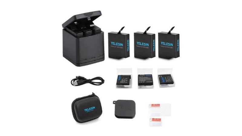 GoProおすすめのサードパーティ製のバッテリーセット