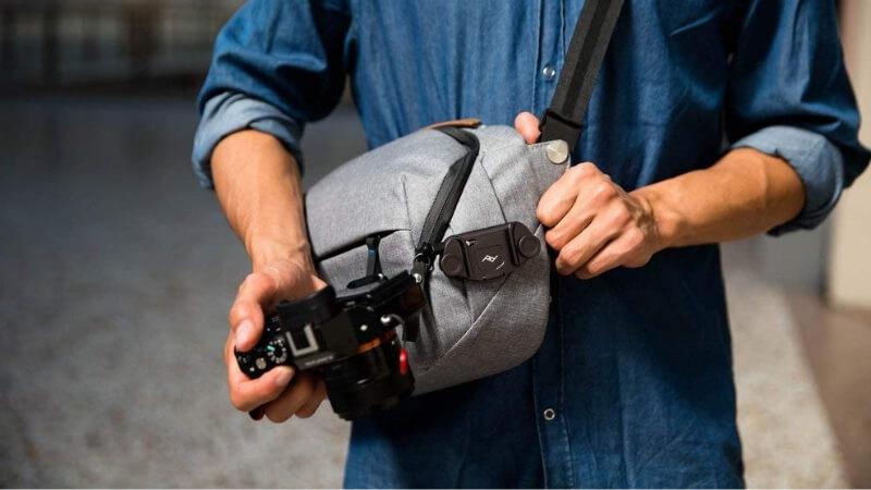 ピークデザインのカメラホルダー