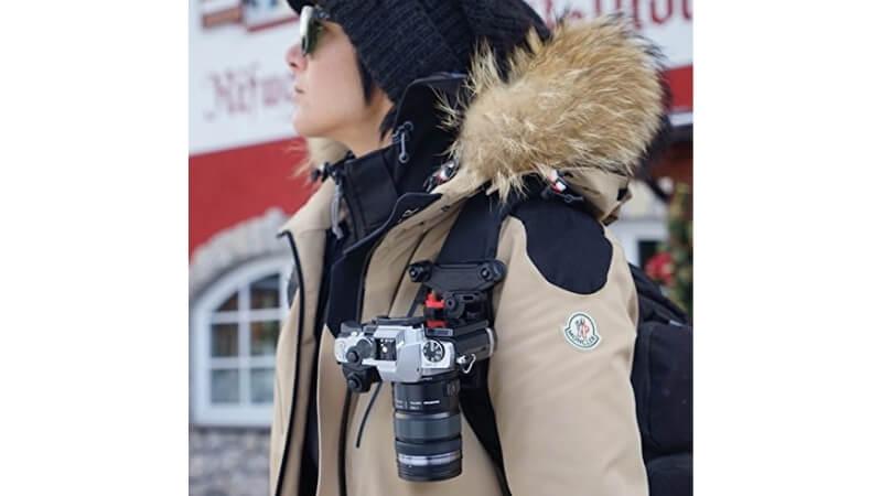 ビーグリップのカメラホルダー
