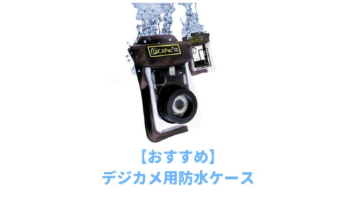 【厳選】デジタルカメラ用のおすすめ「防水ケース」ランキング!ミラーレスや一眼レフでも水中撮影できる