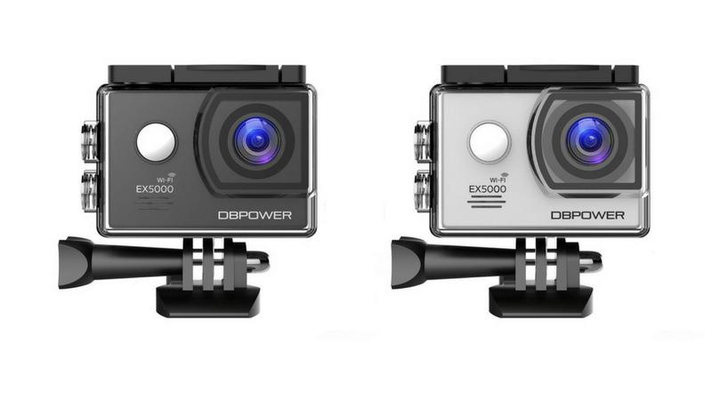 DBPOWEARのアクションカメラ