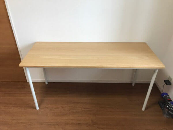 デスク 無印 良品 オーク材・無垢材の家具