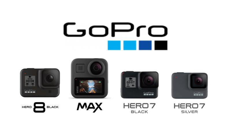 GoProの商品ラインナップ