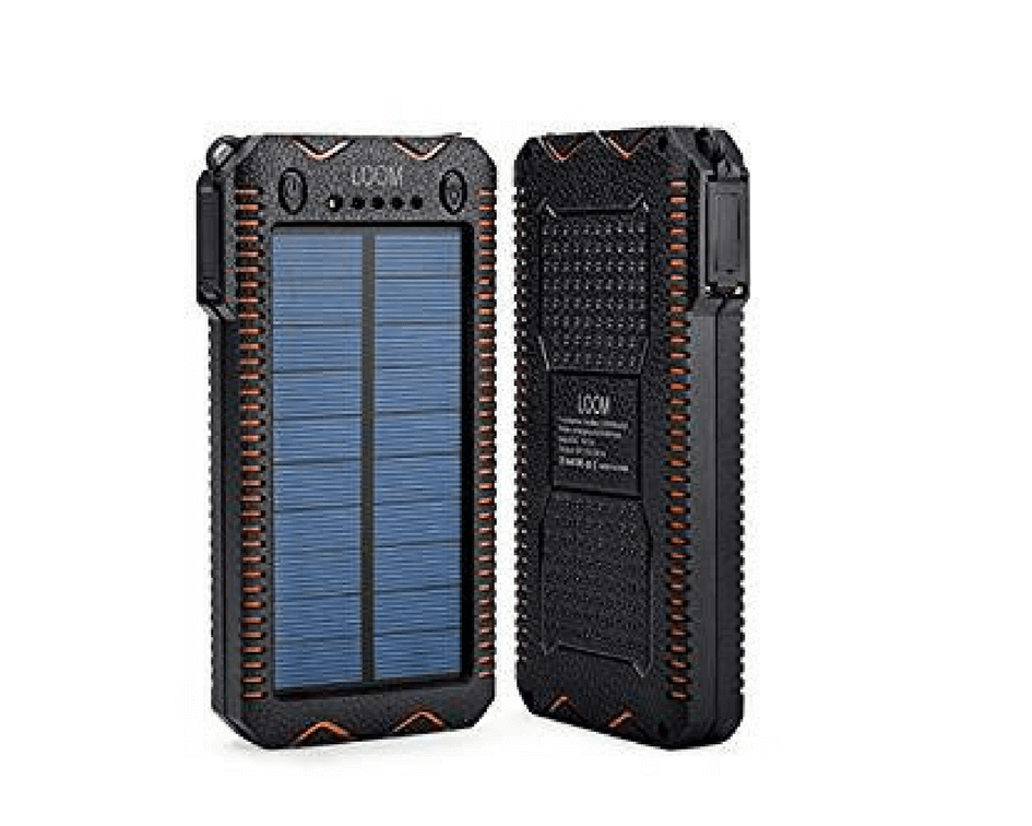 LOOMの超大容量20000mAhモバイルバッテリー