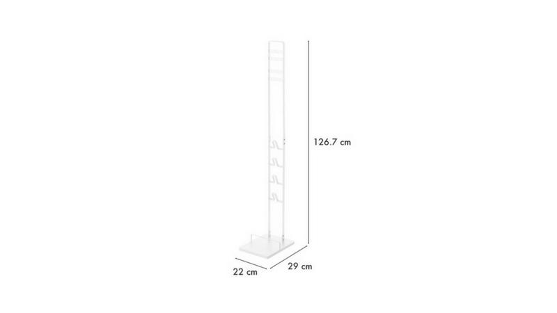 ダイソン用壁掛けスタンドの大きさ