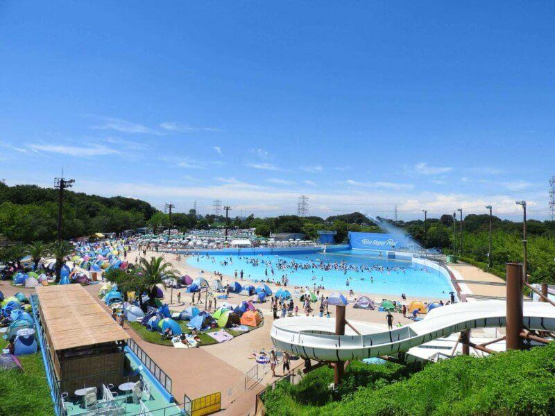 東武動物公園のプール