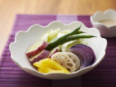 ホットクックで作った蒸し野菜