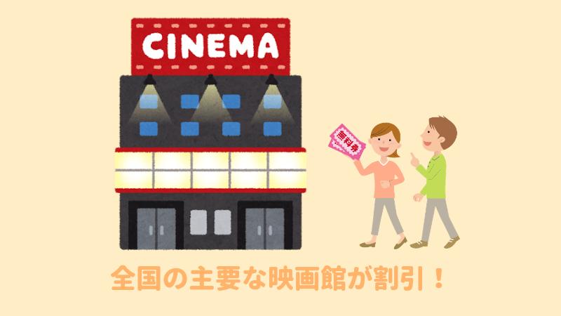 映画館に行くカップル
