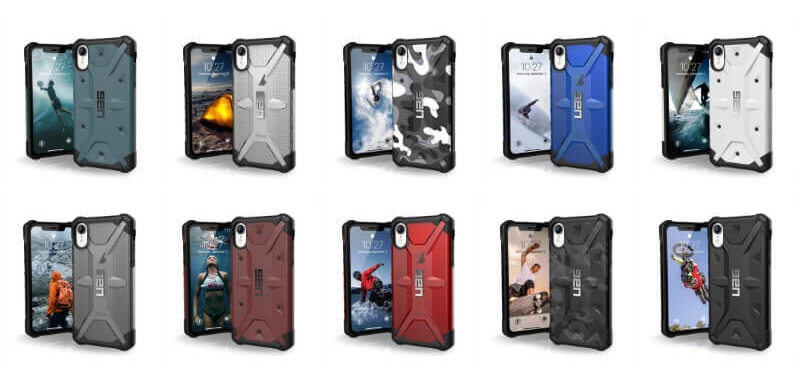 URBANARMORGEARのiPhone XR用ケース 10台