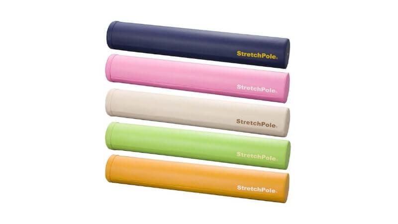 5色のストレッチポール