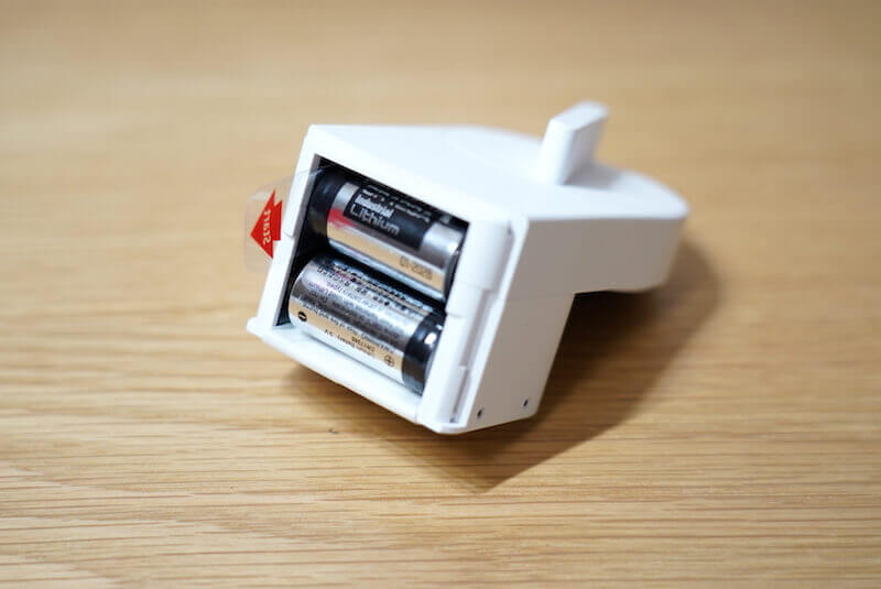 SESAMEminiの電池