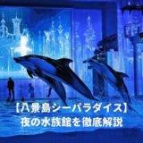 八景島シーパラダイス夜の水族館