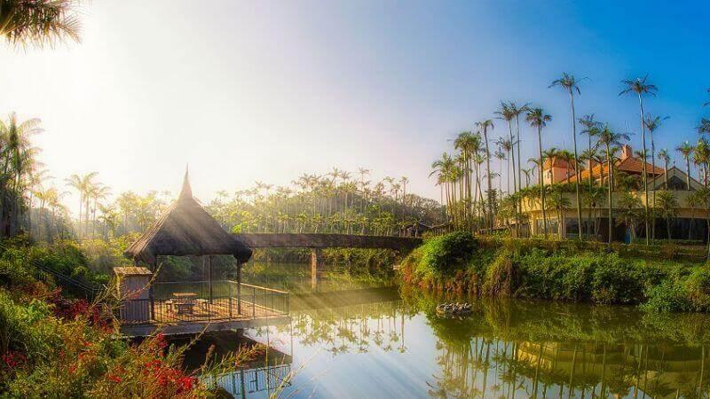 東南植物楽園の園内