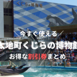 【和歌山】太地町立くじらの博物館は割引券がいっぱい!クーポン・前売り券・優待券を使って入場料金を安くする方法