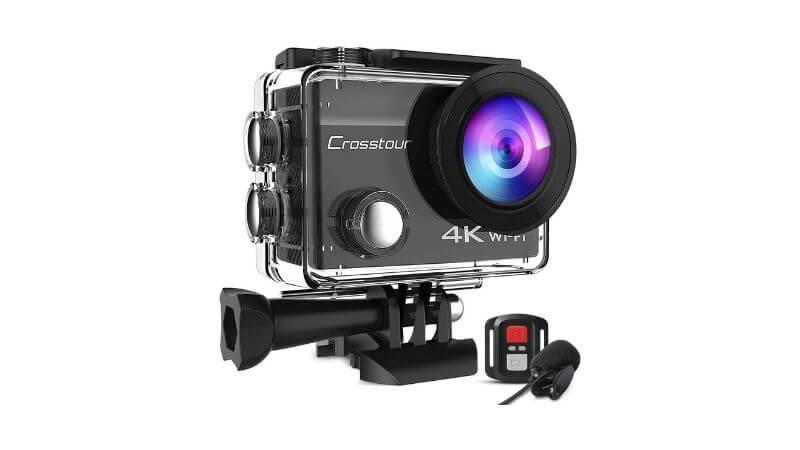Crosstourのアクションカメラ