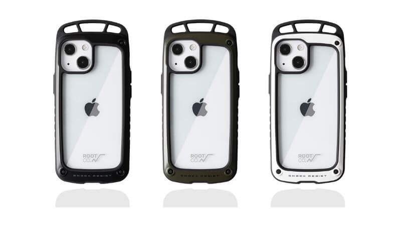 iFace×ROOT CO.のiphone13miniの耐衝撃ケース