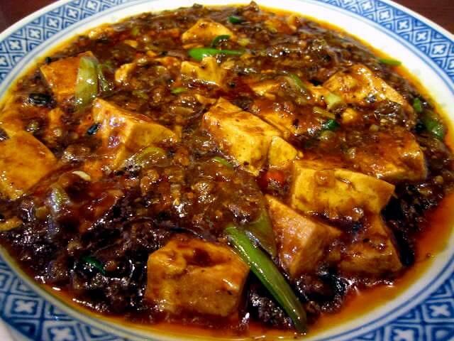 福島 中国菜オイルのマーボー豆腐