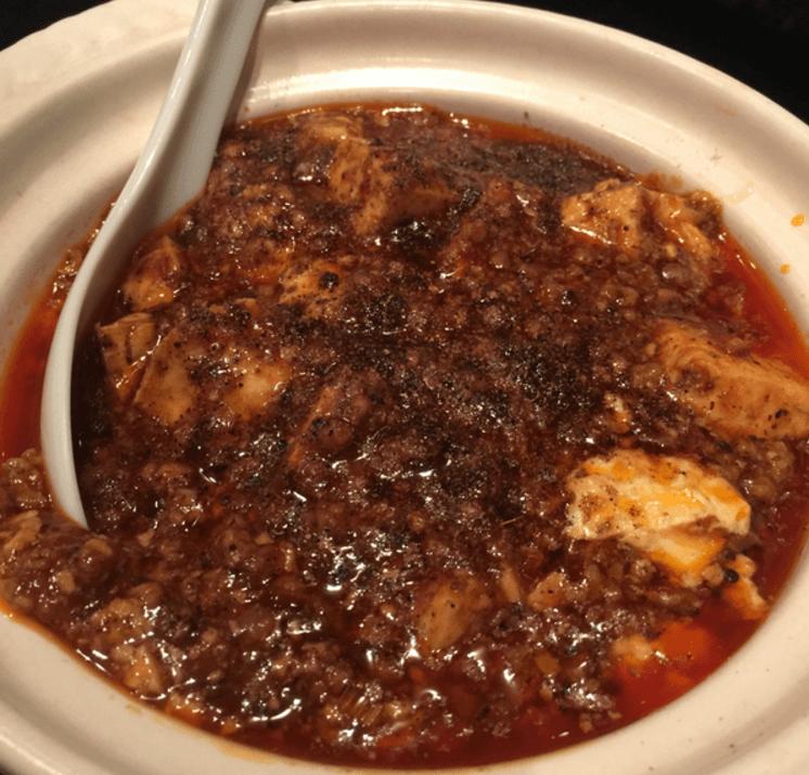 北新地  善道のマーボー豆腐