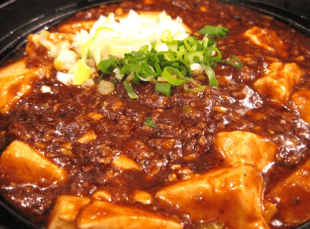 肥後橋 中華菜館水晶のマーボー豆腐