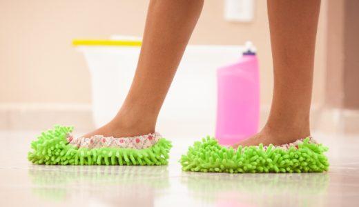 【腰痛解消】フローリング床の「おすすめ掃除道具」まとめ!雑巾がけが楽になる便利グッズ