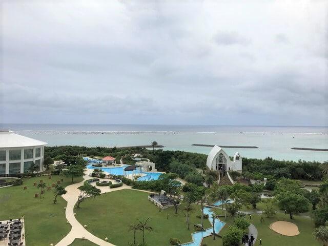 石垣島ANAインターコンチネンタルの庭