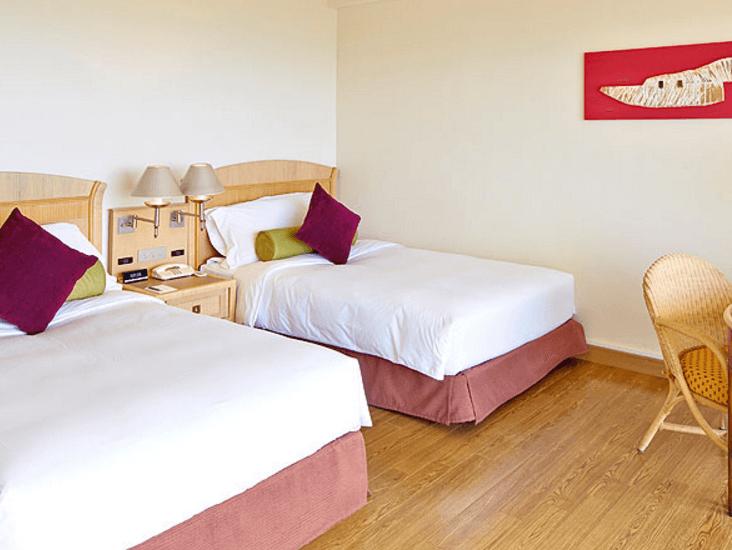 石垣島ANAインターコンチネンタルのベッド