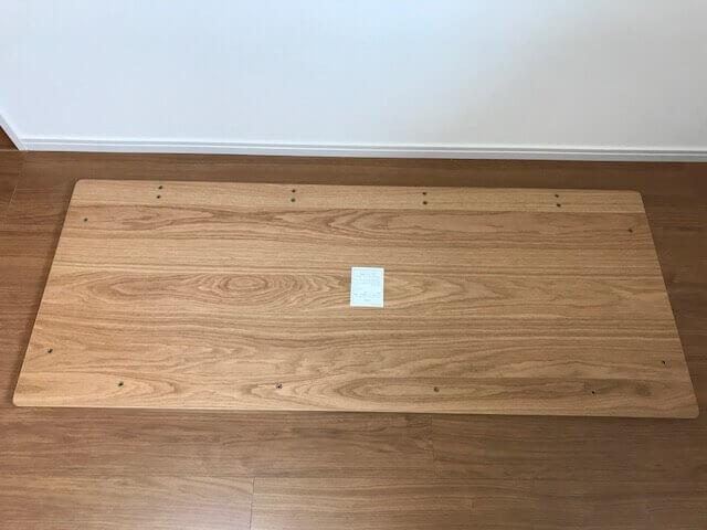 無印良品のデスクの天板